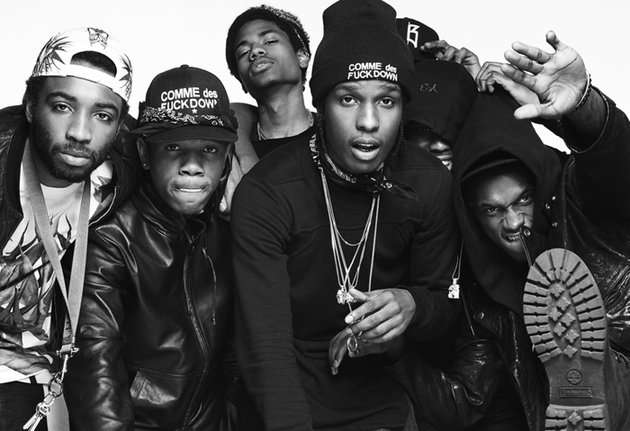 """A$AP Mob Releases New Group Song """"Hella Hoes"""" Ft. A$AP Rocky and A$AP Ferg"""