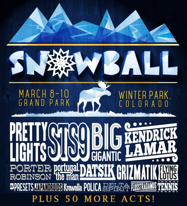 [CONTEST] SnowBall Music Festival 2013 After Parties & VIP Giveaway : Contest