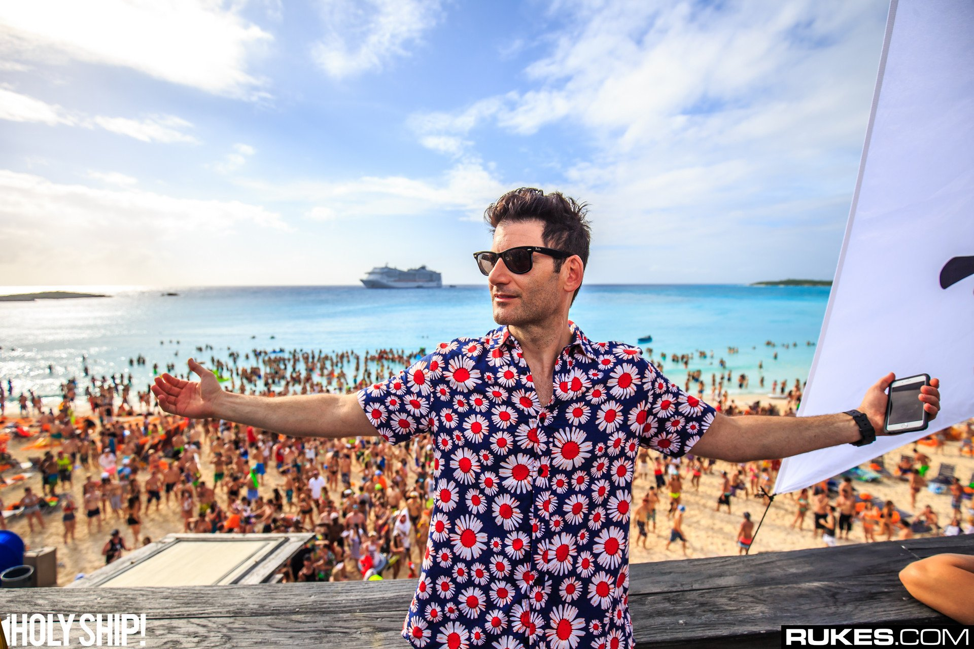destructo gary richards all my friends new cruise festival