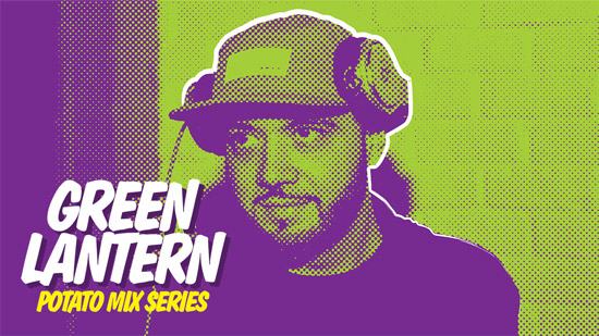 DJ Green Lantern - POTATO Mix : Massive Trap / Hip-Hop Mix with Unreleased Remixes from GRiZ