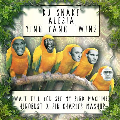DJ Snake x Alesia vs Ying Yang Twins - Wait Till You See My Bird Machine (heRobust x Sir Charles Mashup) : Huge Trap / Hip-Hop Mashup [Free Download]