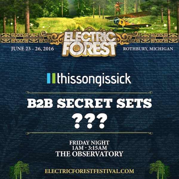 Electric Forest Back to back