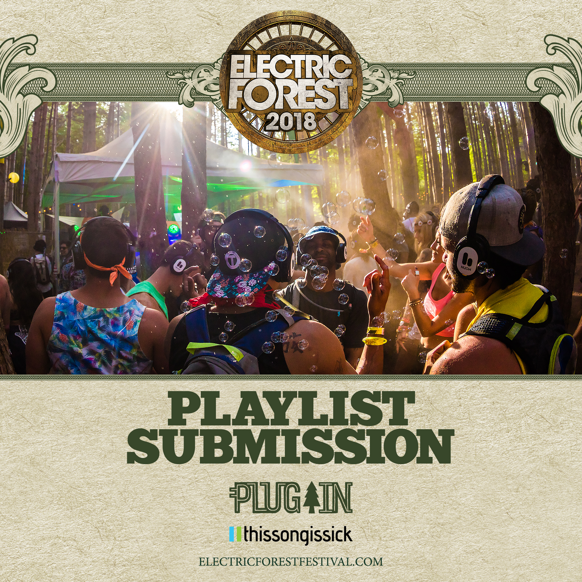 electric forest playlist