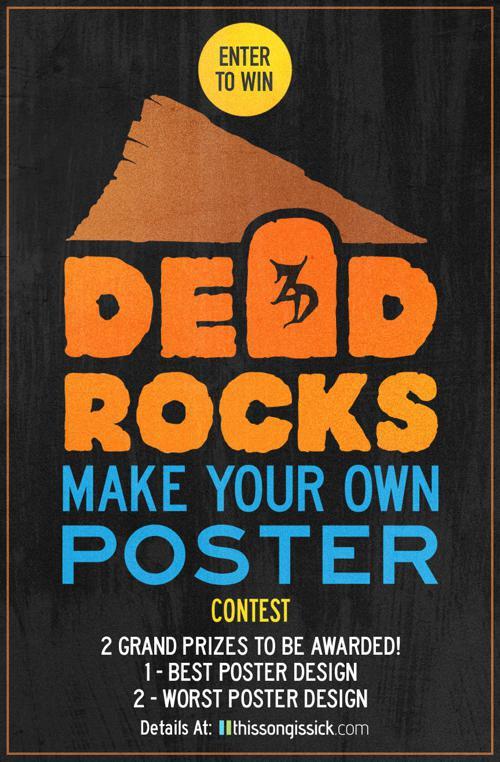 """Enter Zeds Dead at Red Rocks """"Dead Rocks"""" Poster Design Contest"""