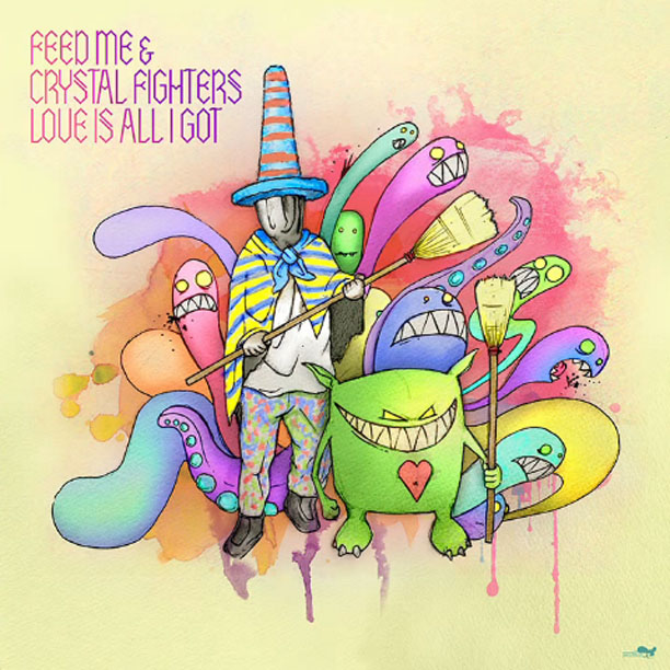 Feed Me & Crystal Fighters - Love Is All I Got : Must Hear Electronic Indie Collaboration