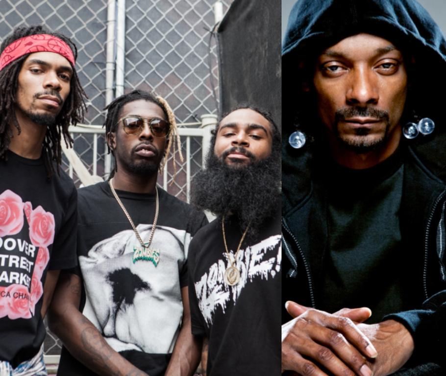 Flatbush Zombies Snoop Dogg