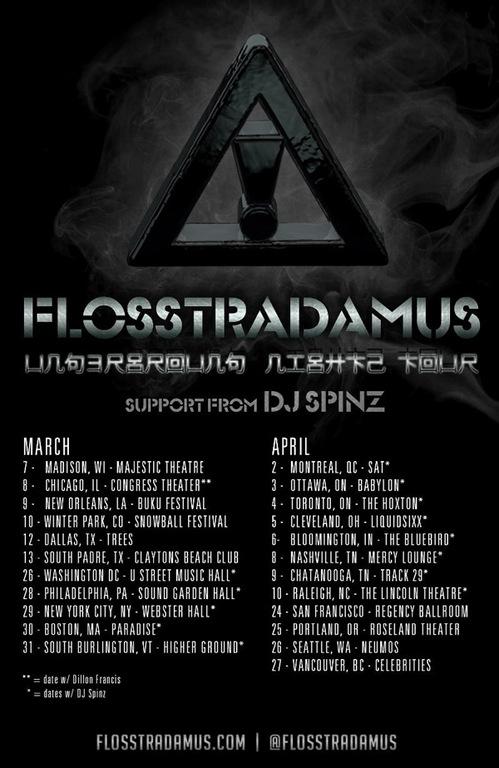 Flosstradmus Underground Nationwide Tour Ticket Giveaway [CONTEST]