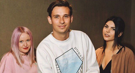 "Flume Shares Must Hear Cover Of Alessia Cara's ""Here"" Ft. Kai & Kucka + New Original"