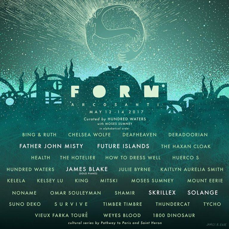 FORM Music Festival 2017 Lineup