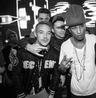 "Full Stream: Major Lazer & Pharrell Team Up On Massive Collab ""Aerosol Can"" : Reggae / Dancehall"
