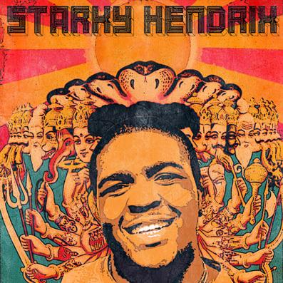 Gabriel Stark - Starky Hendrix : Real Chill Summer Hip Hop Mixtape