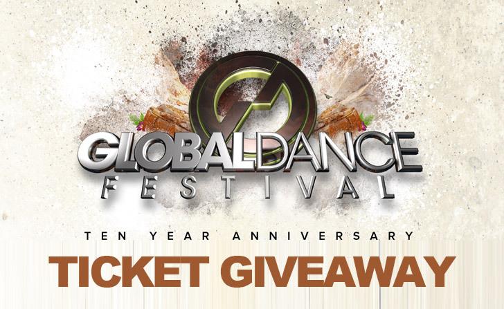 [GIVEAWAY] Global Dance Festival Red Rocks