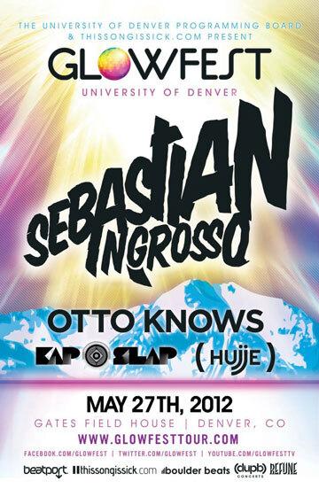 Glowfest University of Denver Ft. Sebastian Ingrosso
