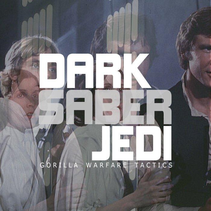 Gorilla Warfare Tactics - Dark Saber Jedi : Chill New Laid Back Hip Hop Song
