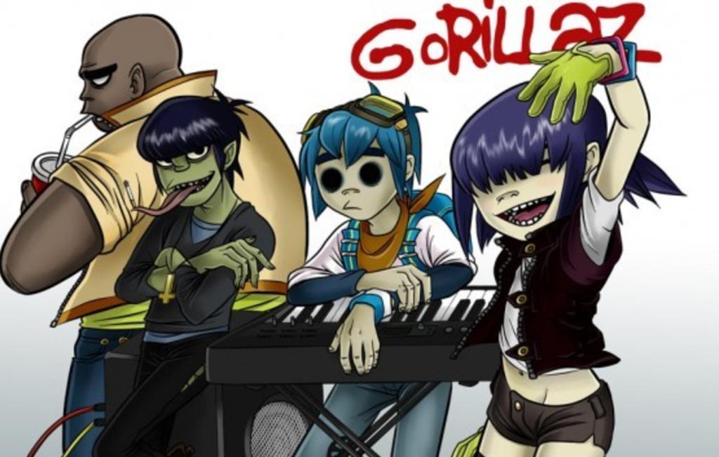 Gorillaz App Announce