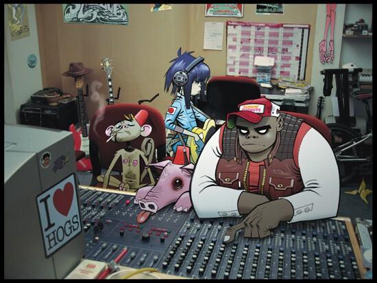 Gorillaz Confirm Studio Time