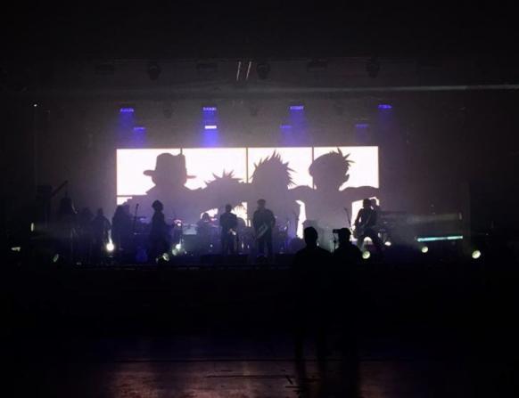 gorillaz london show