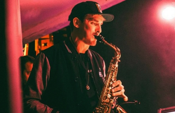 GRiZ Plays Epic Sax Solo After Speakers Are Turned Off During Show Due To Smoking