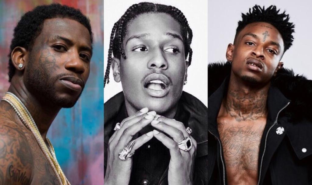 Gucci mane asap rocky 21 savage