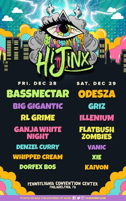 hijinx festival lineup