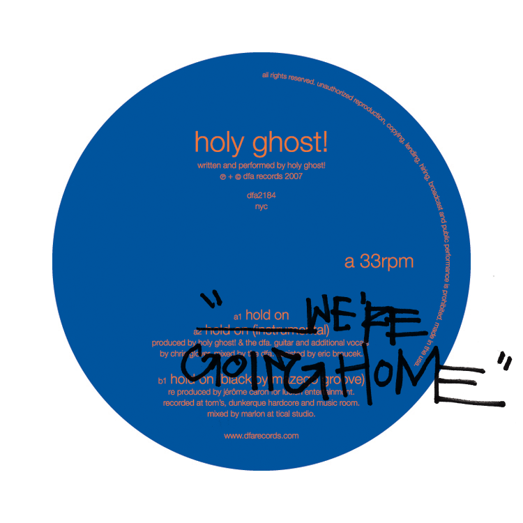Holy Ghost! Hold On We're Going Home (Drake cover) : Indie/Nu-Disco Remix [Free Download]