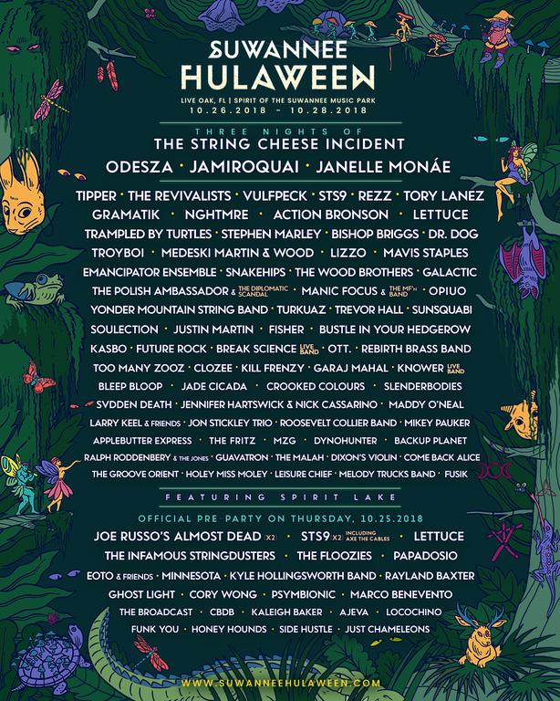 hulaween lineup