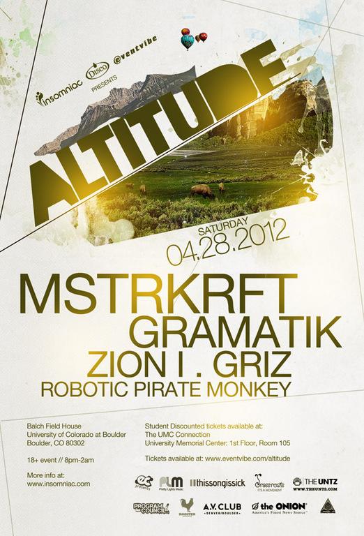 Insomniac Presents Altitude : MSTRKRFT