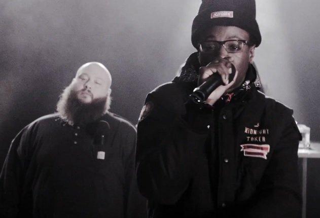 "Joey Bada$$ & Action Bronson Share Must Hear Collaboration ""Run Up On Ya"" Produced by Statik Selektah"