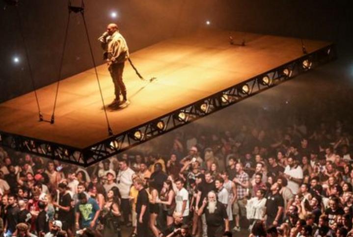 Kanye West Floating Stage