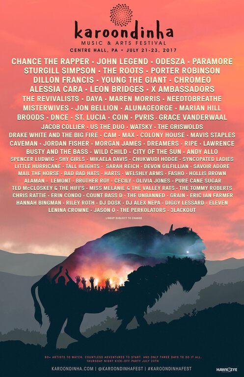 Karoondinha Festival 2017 Lineup