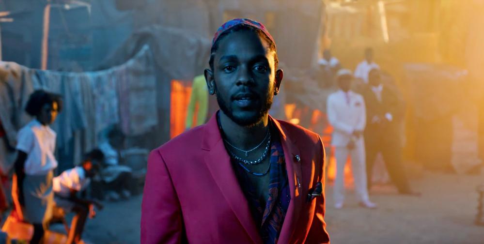 Kendrick Lamar All The Stars Video
