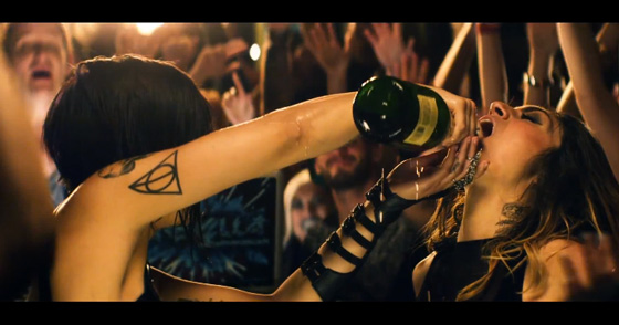 """Krewella drop off impressive visuals for the """"Live For the Night"""" Official Music Video"""