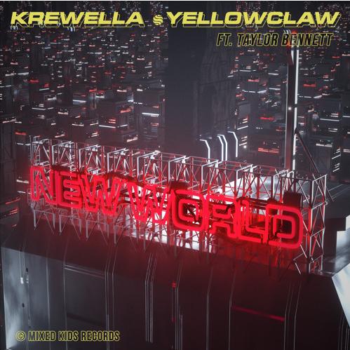 Krewella new world art