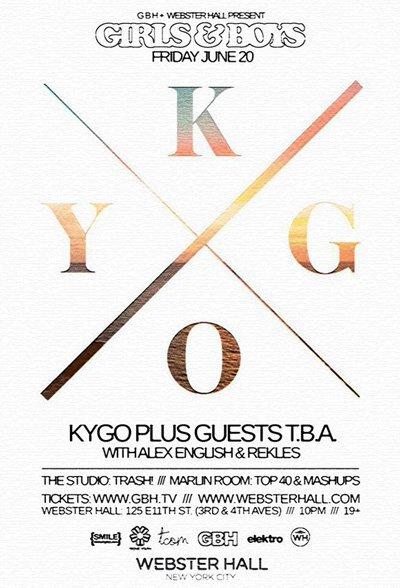 Kygo Announces First U.S. Show + Electric Feel (Kygo Remix)