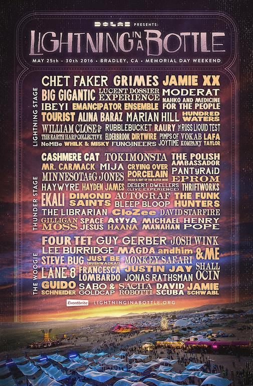 Lightning In A Bottle Announces Refreshing 2016 Festival Lineup