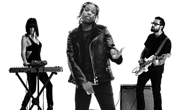 Listen to A$AP Rocky's Freestyle Over Phantogram