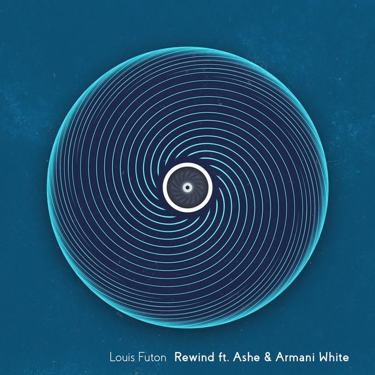 Louis futon Rewind Cover Art