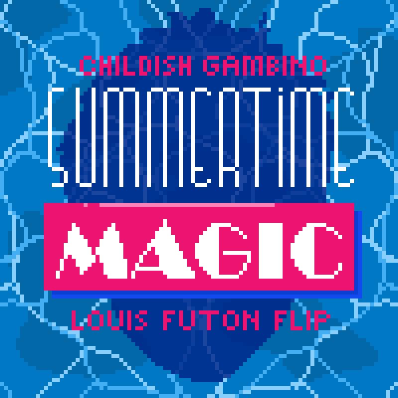 Louis futon summertime magic