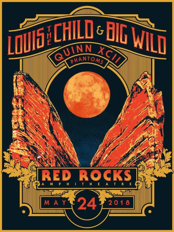 Louis The Child Big Wild Red Rocks