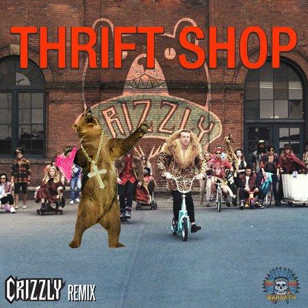 Macklemore & Ryan Lewis – Thrift Shop (Crizzly Remix) : Bass / Crunkstep / Moombahton Remix [Free Download]