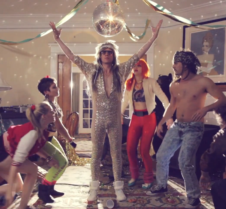 Macklemore X Ryan Lewis - And We Danced [VIDEO] : Up Beat 80's Party Hip Hop Music Video