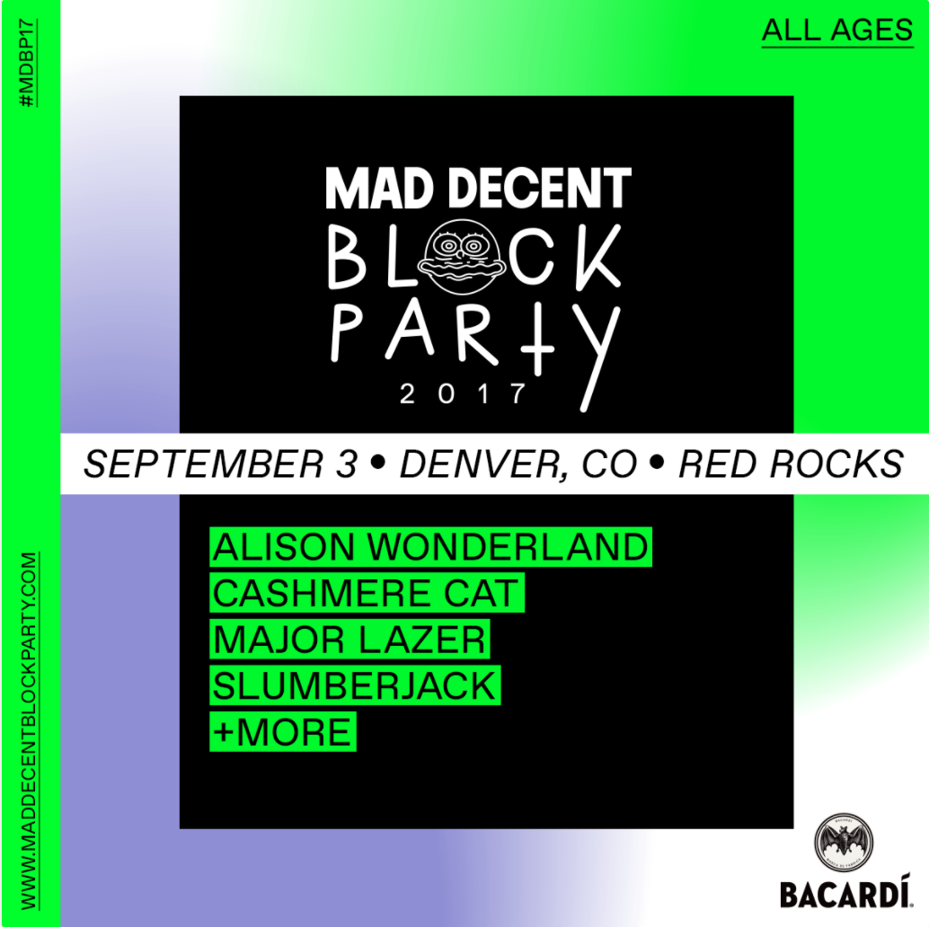 Mad Decent Block Party Red Rocks