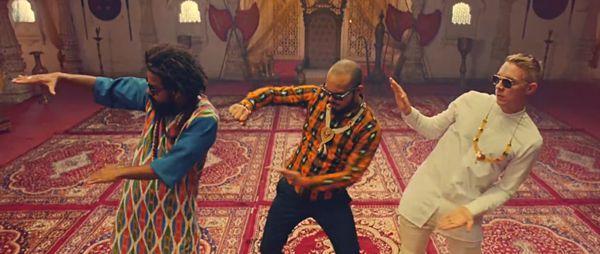 "Major Lazer & DJ Snake Release Epic New Music Video For ""Lean On"" Feat. MØ"