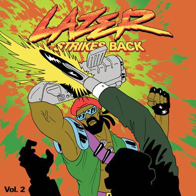 Major Lazer – Lazer Strikes Back Volume 2 : 4 Song Free EP Featuring Flosstradamus