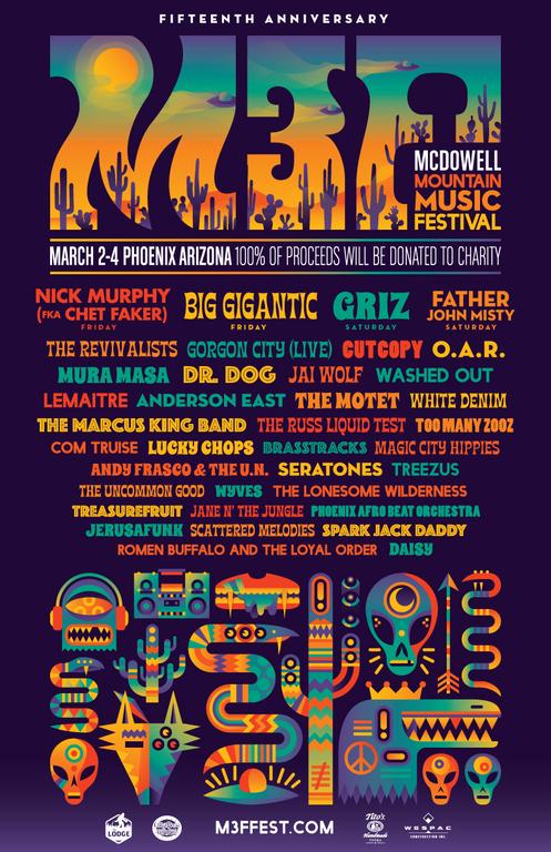 Mcdowell Mountain Music Festival 2018