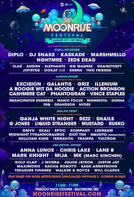 Moonrise Festival 2018