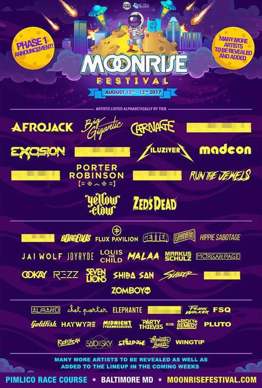 Moonrise Lineup 2017