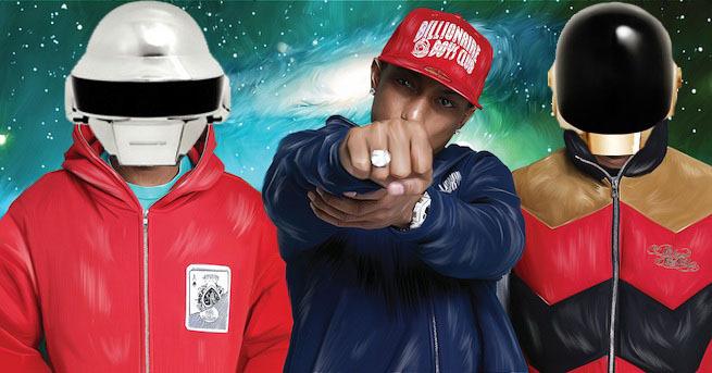 N.E.R.D. & Daft Punk - Hypnotize U (Nero Remix): Sick Chill Dubstep Remix