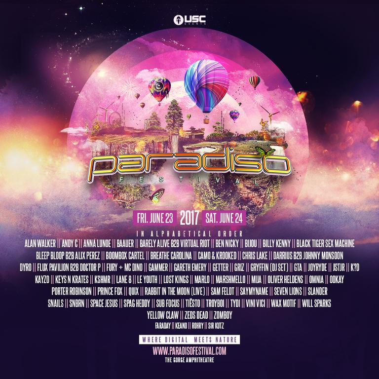 paradiso 2017 lineup