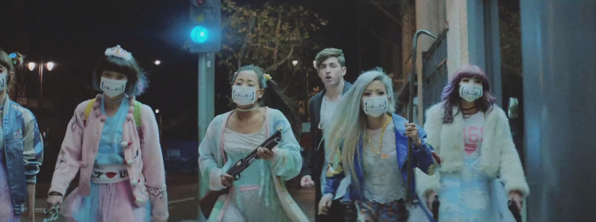 "Porter Robinson and Japanese Girl Gang Wreak Havoc In ""Lionhearted"" Music Video"